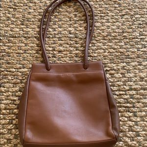 Nine West Genuine Leather North South Tote